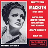 "Macbeth: M�dl-Metternich-H�lgert Berlinvon ""Joseph Keilberth"""