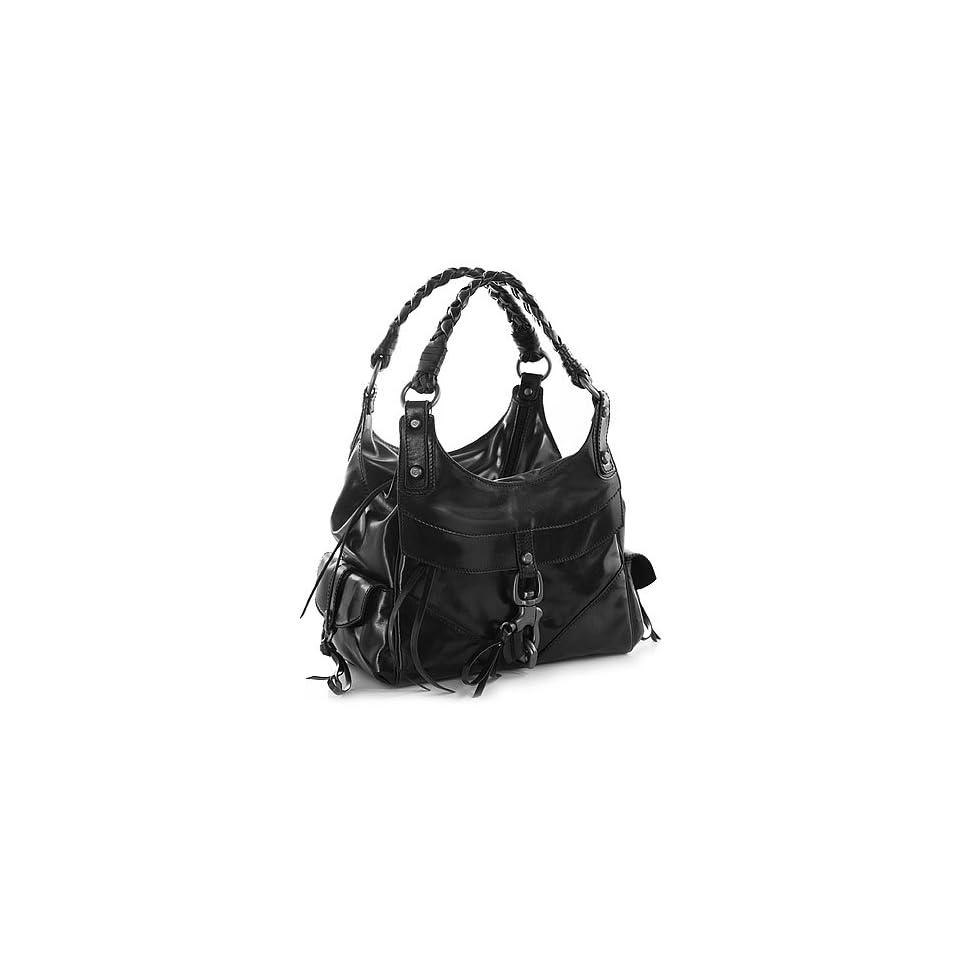 Black Leather Secret Love K Francesco Biasia Hobo