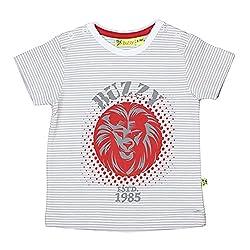 Buzzy Baby-Boys' Cotton T-Shirt (Mint,9-12M)