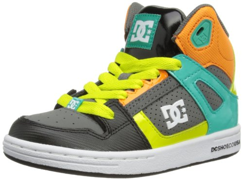 Dc Rebound Skate Shoe (Little Kid/Big Kid),Blue Coral,5.5 M Us Big Kid front-847730