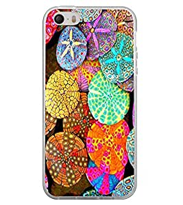 Colourful Coral 2D Hard Polycarbonate Designer Back Case Cover for Apple iPhone 4