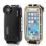 Moonmini®(ムーンミニ)iPhone6 / iPhone6s アップルアイフォン6 / アイフォン6s 4.7インチ 水深40m/130ft プロ 防水保護ケース カバー ダイビング用 潜水用 【並行輸入品】