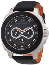BOSS ORANGE Black Leather Mens Watch 1512672