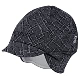 Pace Reversible Merino Wool Hat, Diamond Print/Graphite, One Size