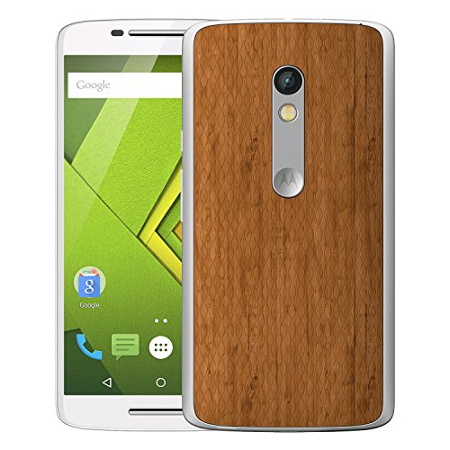 new styles 0eff3 ad473 Digione Back Replacement Wooden Texture Plastic Cover Panel Battery Cover  Snap on Case Cover for Motorola Moto X Play (1st Gen)