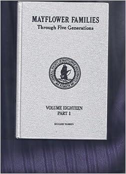 mayflower families through five generations pdf