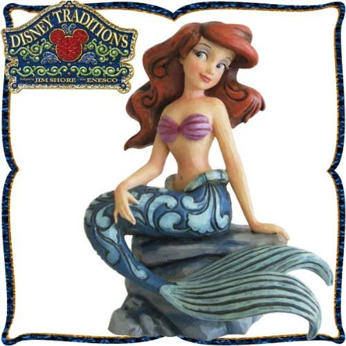 """목각조 피규어 개미 L <리틀・머메이드> """"Splash of Fun"""" 디즈니・tradition"""