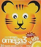 Coromega Omega 3 Kids Orange Squeeze -- 30 Packets