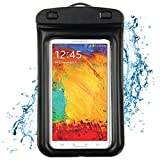 Waterproof case for Samsung galaxy S5 / Samsung Galaxy Note 3 / LG G Pro 2 / HTC One M8 / HTC Desire 816w (Black)