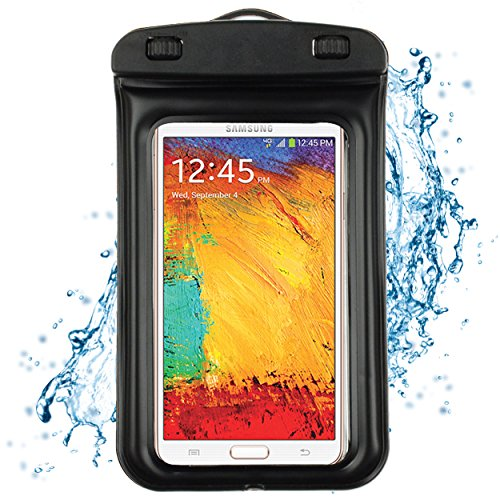 Waterproof Case For Samsung Galaxy S5 / Samsung Galaxy Note 3 / Lg G Pro 2 / Htc One M8 / Htc Desire 816W (Black)