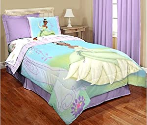 Disney Princess and the Frog Twin Bedding Set Comforter and Sheets