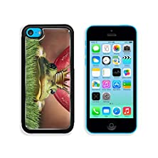 buy Msd Apple Iphone 5C Aluminum Plate Bumper Snap Case Love Match And Finding Prince Charming Or Mr Right Concept As Red Female Lips Getting Ready To Kiss A Frog Prince Wearing A Crown 32993444