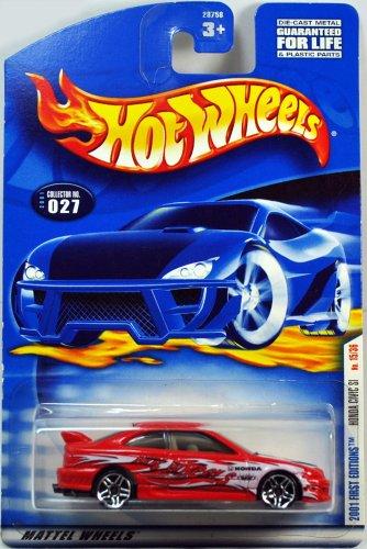 Hot Wheels 2001-027 Honda Civic SI First Edition 15/36 PR5 Wheels 1:64 Scale - 1