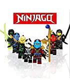 レゴ(LEGO) 互換 忍者ブロック 8体セット/ニンジャゴー