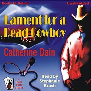 Lament for a Dead Cowboy Audiobook
