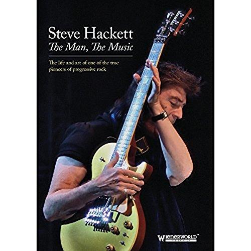 DVD : Steve Hackett - Man the Music (DVD)