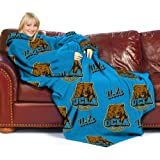 UCLA Bruins Adult Comfy Throw Blanket with Sleeves