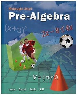McDougal Littell ALGEBRA 1 Chapter 2 Resource Book