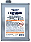 MG Chemicals 433-4L d-Limonene (Pure Grade) Cleaner Degreaser and 3-D Printing Chemical, 1 Gallon Can