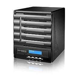 Thecus W5000 5-Bay NAS Server w/ Intel Atom Processor