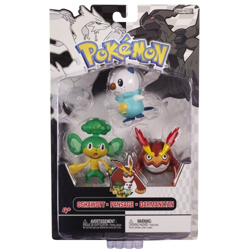 Pokemon Figure Multipack B&W Series #2 Wave 2G - Water Starter - Wave 1 E (Zorua Figure compare prices)