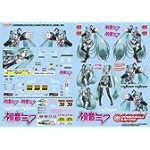 GSRキャラクターカスタマイズシリーズ 初音ミク 1/24scale用デカール01