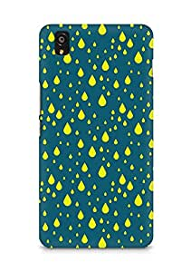 Amez designer printed 3d premium high quality back case cover for OnePlus X (Rain Pattern1)