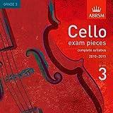 Cello exam pieces, complete syllabus 20102015, Grade 3 (ABRSM Exam Pieces)
