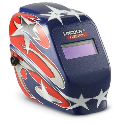 Lincoln Electric Auto - Darkening Welding Helmet And Gloves Set