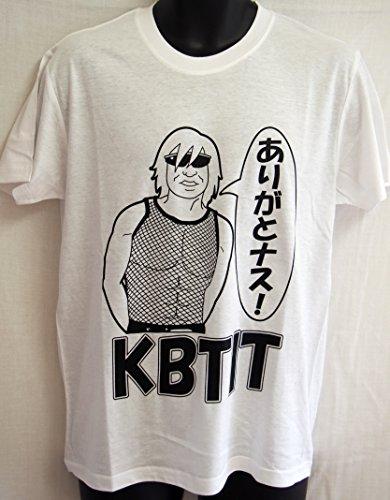 ヲワタTシャツ ありがとなす(KBTIT)  (XL, 白)