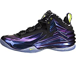 Nike Mens Chuck Posite Basketball Shoes Cave Purple/Bright Mango 684758-500 Size 12