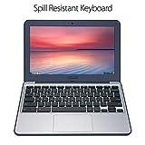 "ASUS Chromebook C202SA-YS02 11.6"" Ruggedized and Water Resistant Design with 180 Degree Hinge (Intel Celeron 4 GB, 16GB eMMC, Dark Blue)"