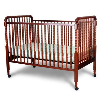 jenny lind fixed side convertible crib finish