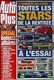 AUTO PLUS  du 14/09/1999