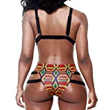 YFFaye-Womens-African-Print-Inspired-Two-Piece-Bathing-Suit