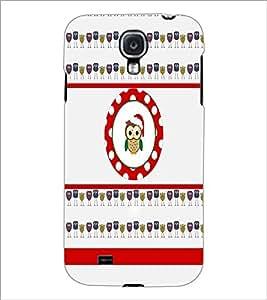 PrintDhaba Tiny Owl D-2779 Back Case Cover for SAMSUNG GALAXY MEGA 6.3 (Multi-Coloured)
