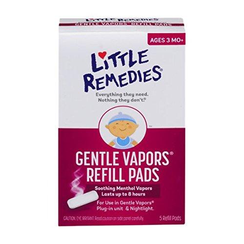 Little Remedies Gentle Vapors Refill Pads, 5 Count