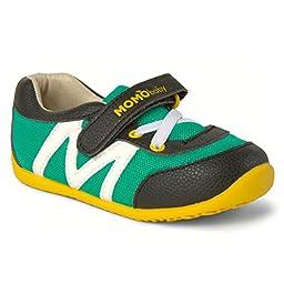 Momo Baby Boys First Walker/Toddler Hunter Sneaker Shoes - 9 M US Toddler