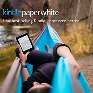 "Kindle Paperwhite, 6"" High Resolution Display (300 ppi) with Built-in Light, Wi-Fi"