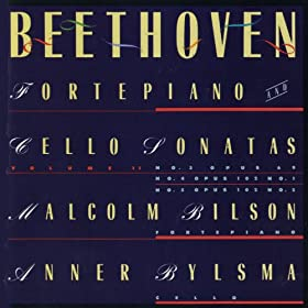 Beethoven: Sonatas For Forte Piano and Cello, Vol. 2