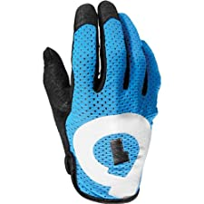 SixSixOne Raji Adult Off-Road Cycling MTB Gloves - Cyan / 2X-Large