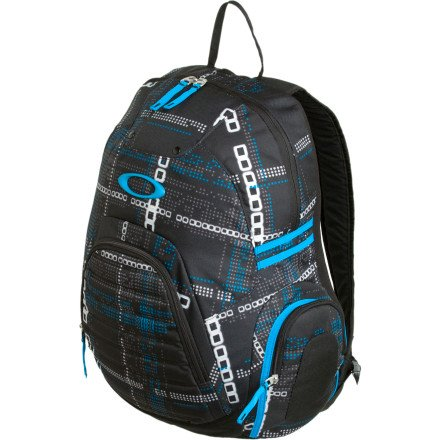 Oakley Peak Load Backpack Digi Plaid OS -Kids