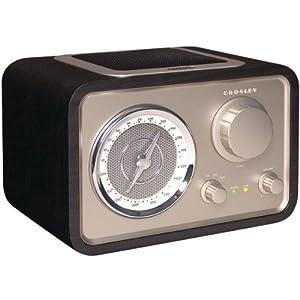 Crosley Solo Radio CR221 Black