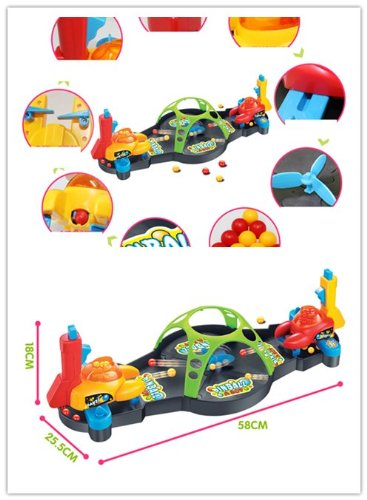 Big Dragonfly Super Fun Double Player Pinball Game Toy For Kids