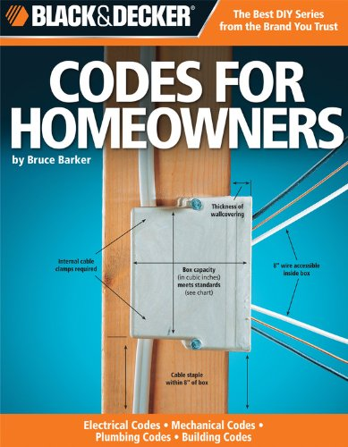 Black & Decker Codes For Homeowners: Electrical Codes, Mechanical Codes, Plumbing Codes, Building Codes front-307847