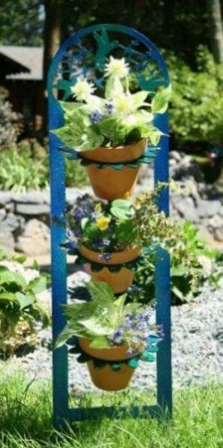 Vertical Pot Rack Hummingbird Blue/Green - Buy Vertical Pot Rack Hummingbird Blue/Green - Purchase Vertical Pot Rack Hummingbird Blue/Green (Next Innovations. LTD, Home & Garden,Categories,Patio Lawn & Garden,Plants & Planting,Plant Containers & Accessories,Accessories,Plant Racks)
