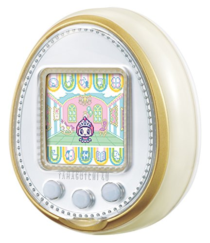 TAMAGOTCHI 4U WHITE (egg gone POO 4U white)