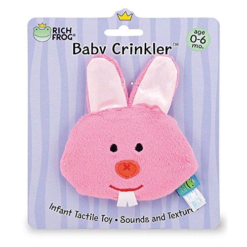 Rich Frog Baby Crinkler - Bunny
