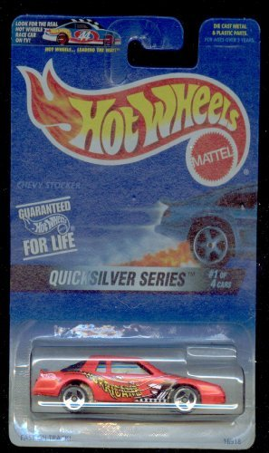 Hot Wheels 1997-545 Quick Silver Series 1 of 4 Chevy Stocker 1:64 Scale