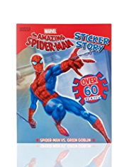 Marvel the Amazing Spider-Man Sticker Story Book